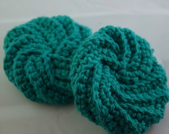 Face Scrubbies Set - Turquoise