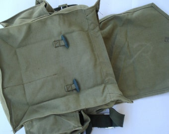 Vintage Military Army Bag /Inside Two Pockets /Cold War/ Soviet Union/ 1970s