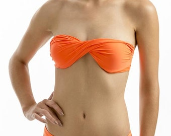 Top Bandeau Twist Bikini