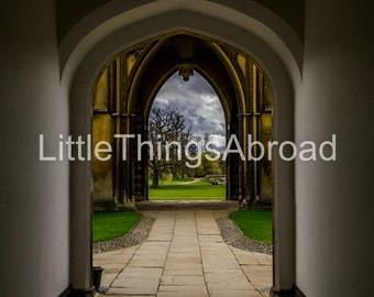 Cambridge, photo print on canvas, England, United Kingdom, college, Harry Potter, printable art, scenic, giclee, digital art, wall decor