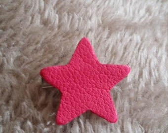 PIN leather pink