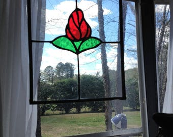 Stained Glass Art-Rose