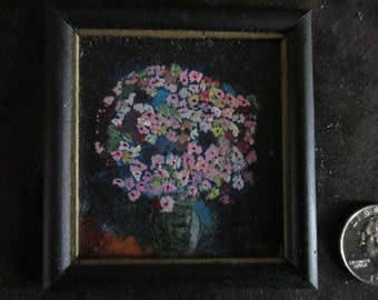 miniature paintings, dollhouse accessories