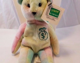 "vintage Senna Collectible ""stash"" The Y2k Bear"