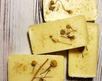 Lotion Bar - Ginger Root, Ylang Flower and Chamomile