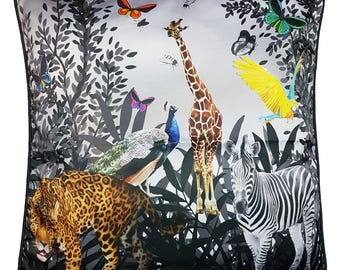 One Of A Kind Wild Jungle 50x50cm Cushion