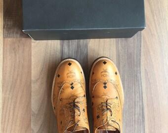 MCM X Phenomenon Oxford Shoes Brown