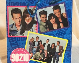 Vintage 1992 Beverly Hills 90210 Gift Bag