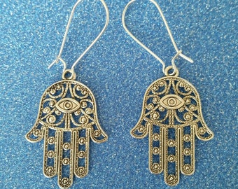 Hamsa/Fatima Hand Earrings