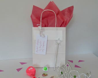 Personalised Filled Girls Princess Birthday Party Bag