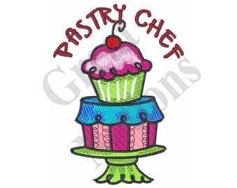 Pastry Chef - Machine Embroidery Design