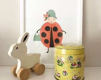 Decorative Easter Tin
