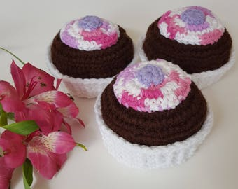 Chocolate Cupcake Pincushion