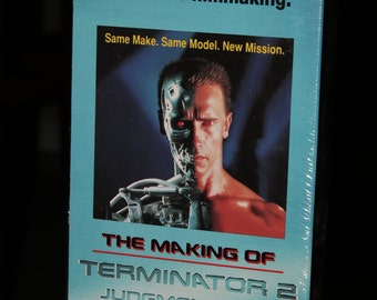 Terminator 2 (Behind the Scenes) Judgement Day T2 Vintage 1991 The Making of Video Cassette VHS Movie