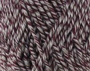 Chunky Melody Purple Haze Wool Blend Yarn Bulky 100g/skein