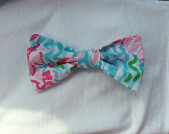 Lilly Pulitzer Hair Bow - Lilly Pulitzer Inspired