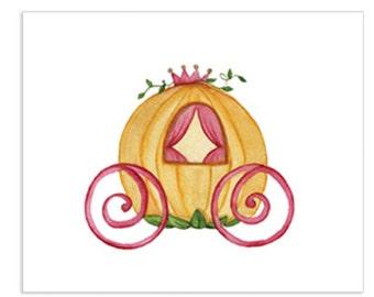 Pumpkin Carriage Art Print