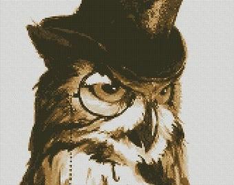 Cross Stitch Pattern Fantastic Owl PDF