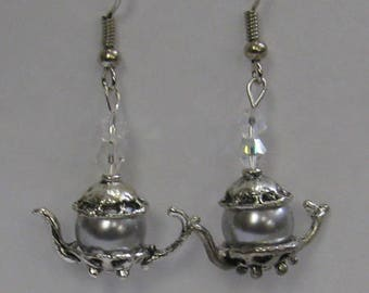 Teapot Earrings E35