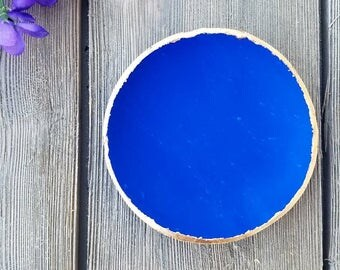 Blue Jewelry dish, Jewelry holder, Trinket dish, Ring holder, Birthday gift, gift for her, Trinket tray, catch all, ring dish, vanity tray