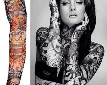 Temporary Tattoo Sleeve Nylon