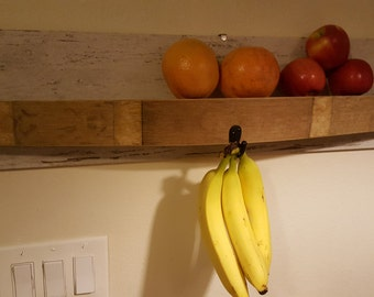 Wine Stave Fruit Rack