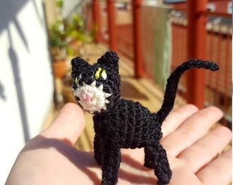 Crochet miniature cat