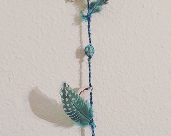 Calming Blue Mini Witch's Ladder *Personal Protection
