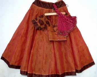 South Indian Gopi Skirt Outfit Set