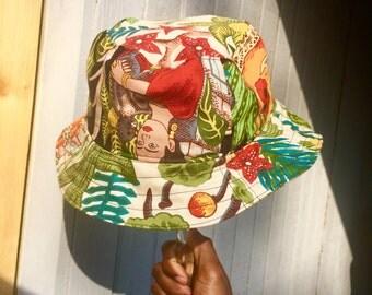Handcrafted 1-of-1 custom bucket hats