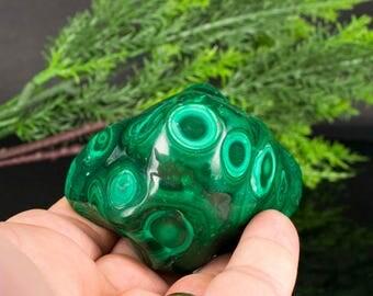 Polished Green Malachite Mineral Specimen