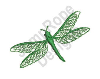 Dragonfly Bug - Machine Embroidery Design