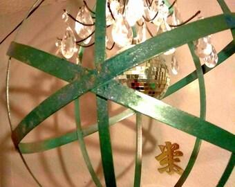 Handmade Orb Chandelier Pendant Lamp