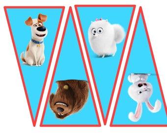 Secret Life of Pets Banner