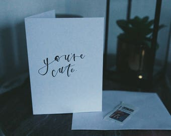 Greeting Card   Card stock