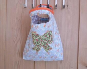 A Handmade Cotton Handbag