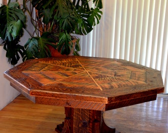 Octagon Shaped Dining Table Loris Decoration - Octagon shaped dining table