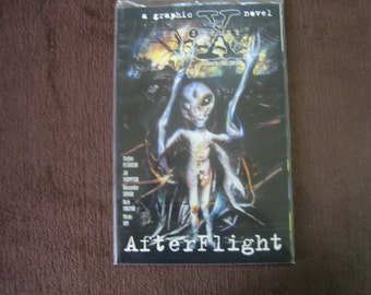 X-Files Comic - Afterflight - graphic novel  August 1997
