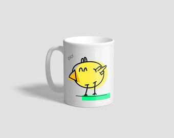 Mug cute&fatty (Chicken)