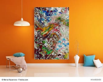 """Painting nature and four elements series """"The four elements"""" painting nature and four elements series """"the four elements"""""""