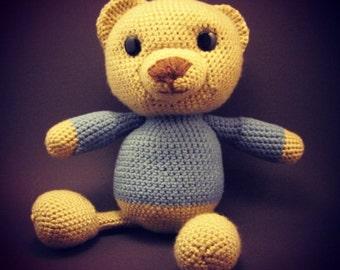 Teddy Bear in Blue