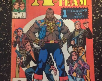 The A-Team # 1 Comic by Marvel