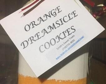Orange Dreamsicle Cookie Jar