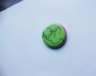 birlgoy badge - the only one left! (Size: small = regular badge size)