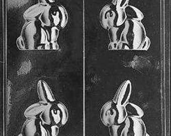 3D Floppy Eared Bunny Easter Mould