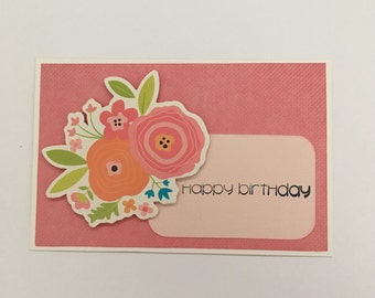 Handmade Card - Happy Birthday (HB22)