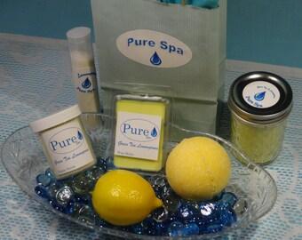 Hand-made Spa Gift Set - Lemongrass