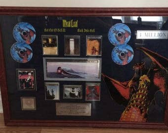 "Meatloaf ""Bat Out Of Hell ll"" & ""Bat Into Hell"" RIAA Award"