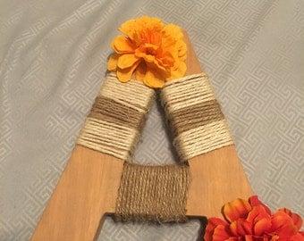 Custom wooden letters