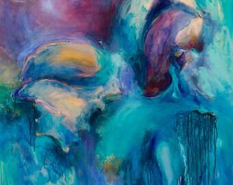 Ocean Treasure, Limited edition Art print, by Camilla Grace Vascon, giclee print